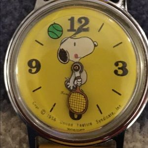 Yellow Snoopy Watch